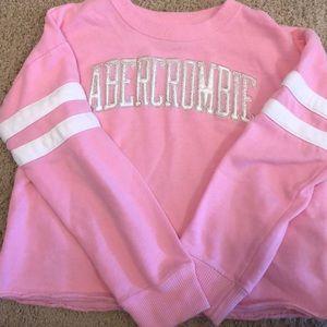 Ambercrombie crop sweatshirt